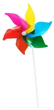 50 piece lot pvc 6 10 20cm Classic Toys solids multicolors Wind Spinner Whirligig Garden Windmill