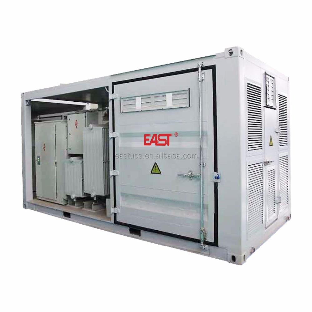 1500 В 2,5 МВт центральной инвертора (Pad установлен трансформатор Integrated) EA2500KTS-35
