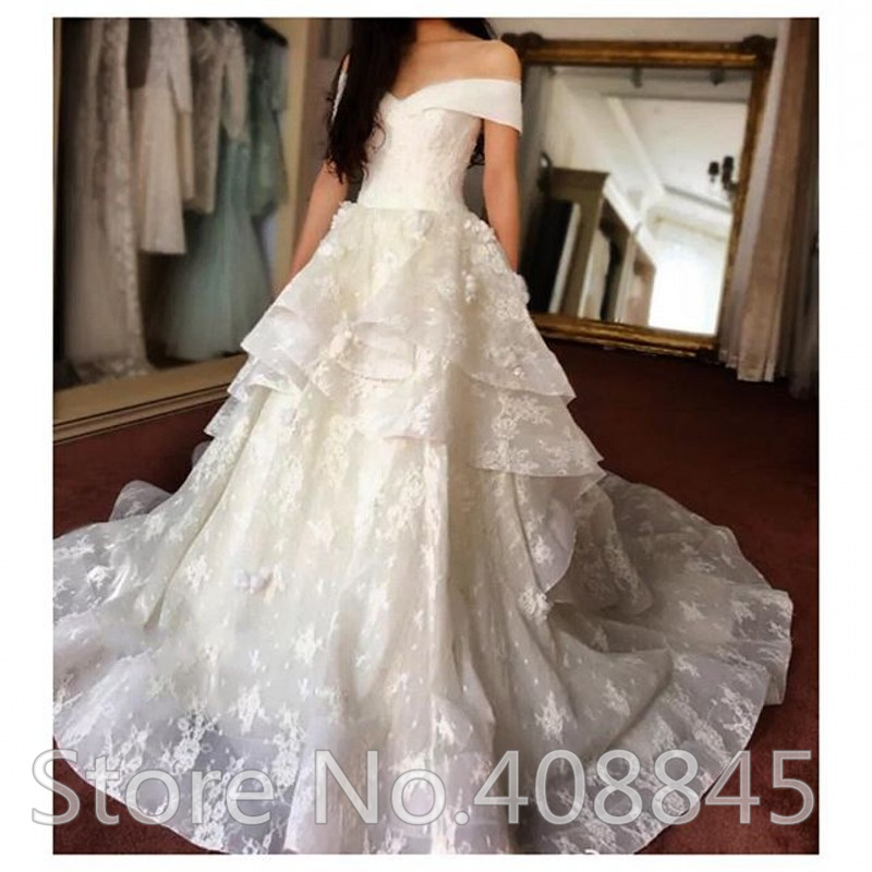 Discount Vintage Lace Gothic Plus Size Wedding Dresses: Aliexpress.com : Buy Elegant Boat Neck Sexy Off Shoulder