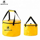 Large Collapsible Water Bucket Premium Fold Up Bucket For Camping,Traveling