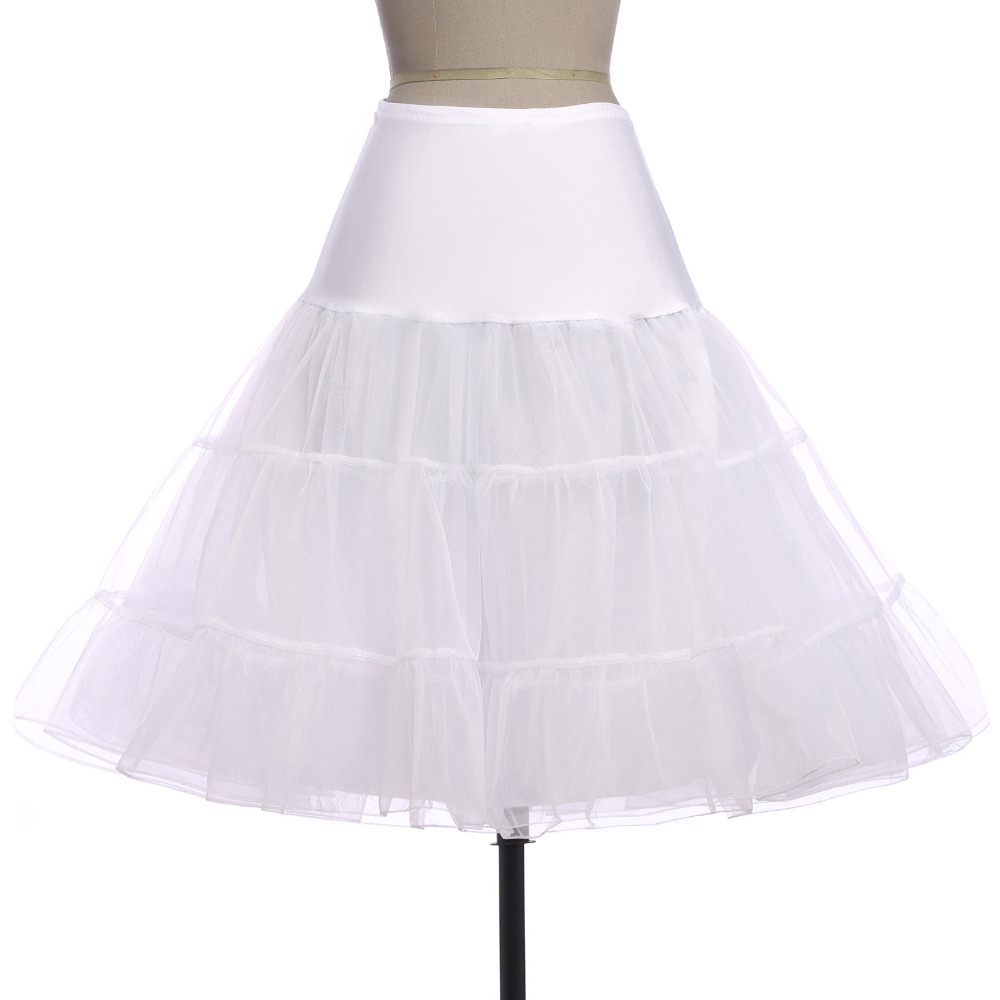 White Crinoline Skirt 113