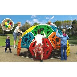 Парк развлечений, наружная игровая площадка, LLDPE пластиковая космическая капсула, альпинистская рамка, Лучшая цена
