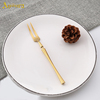 Silver two-toothed fork 14.5*1.3cm