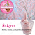 Cherry Blossom/Sakura Soft-serve Ice Cream Powder, frozen yogurt powder