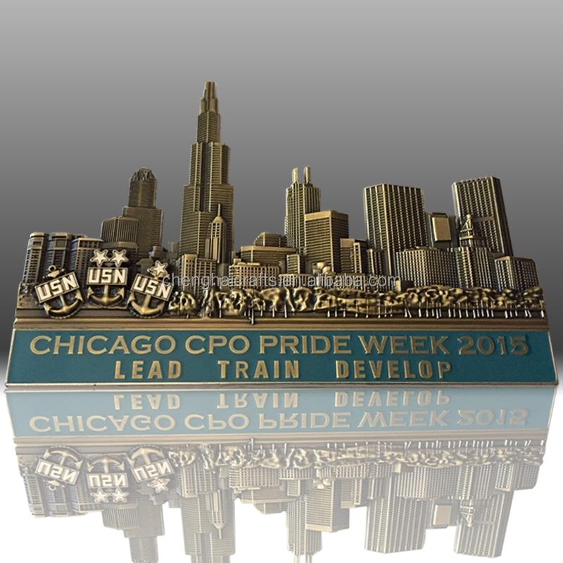Chicago US Navy Challenge Coin