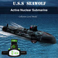 Highest Quality Seawolf RC Submarine Model Nuclear Powered Submarine RC Remote Control Boat Charging children s