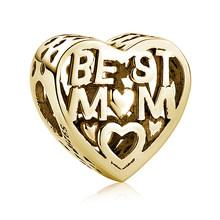 Модный бусины из стерлингового серебра 925 с кристаллами-бабочками и сердечками, оригинальный браслет Pandora, сделай сам, ювелирное изделие из ...(Китай)