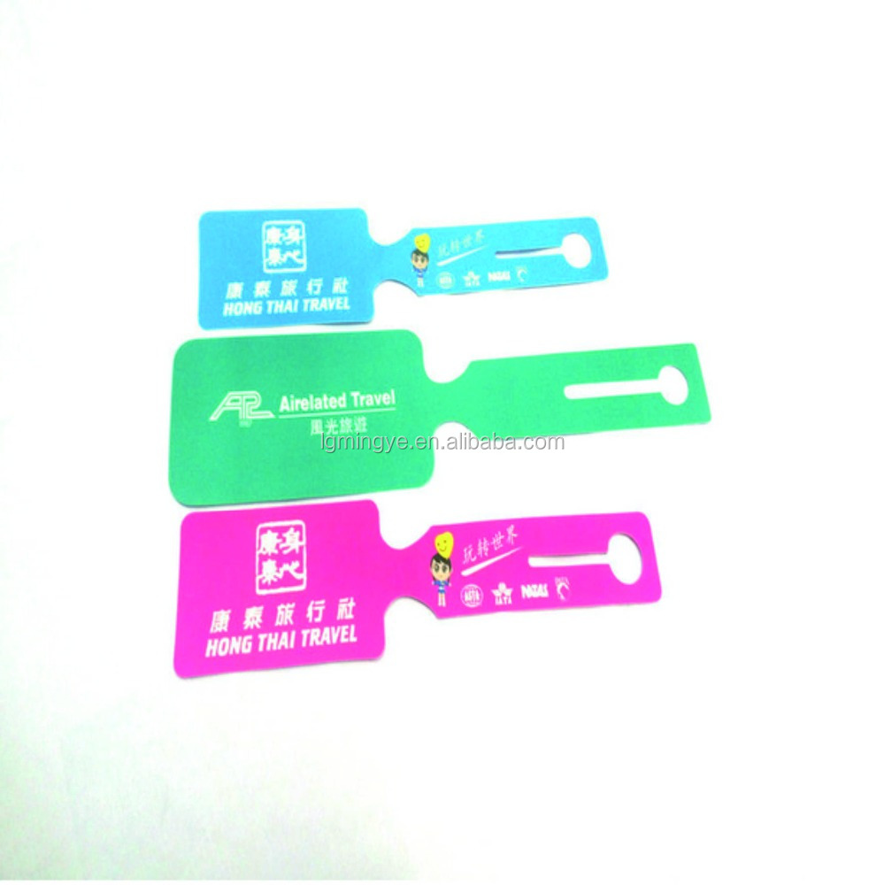 Writable Hangtag/Plastic Tag/ Printed PP Tag