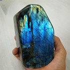 Natural blue Labradorite Polished gemstone