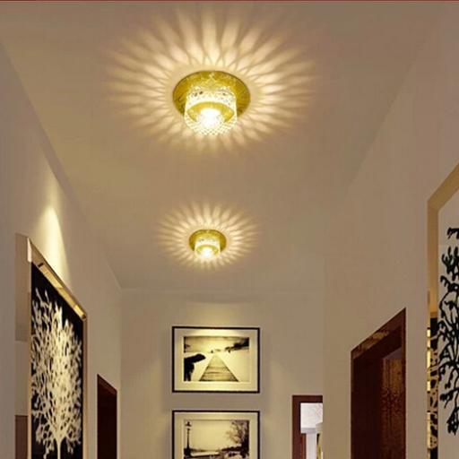 Hall Lighting Fixtures: Aliexpress.com : Buy 3W Modern LED Ceiling Spotlights