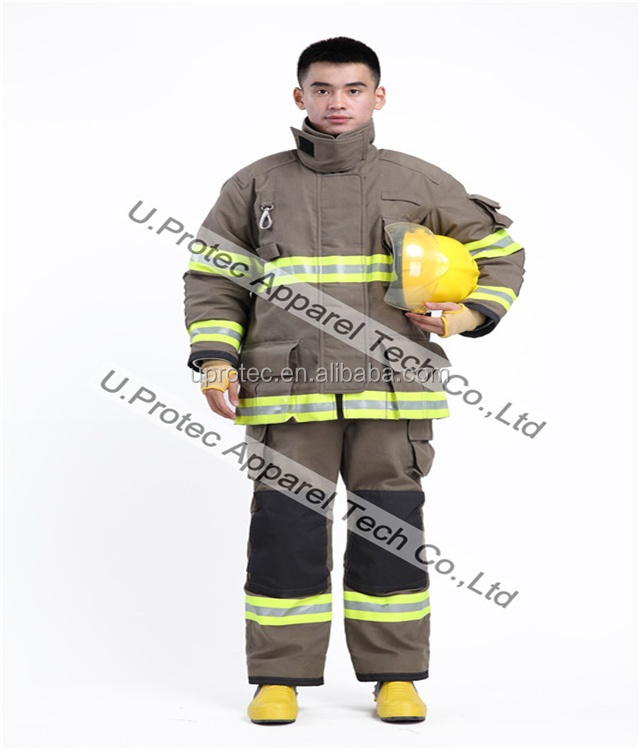 NFPA1971 Fire Fighting Suit with Nomex Ripstop ,Turnout Gear , Firefighter Suit