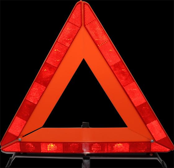 Предупреждение складной отражает тип пояс для автомобильной кадров