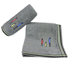 Small man embroidery - grey