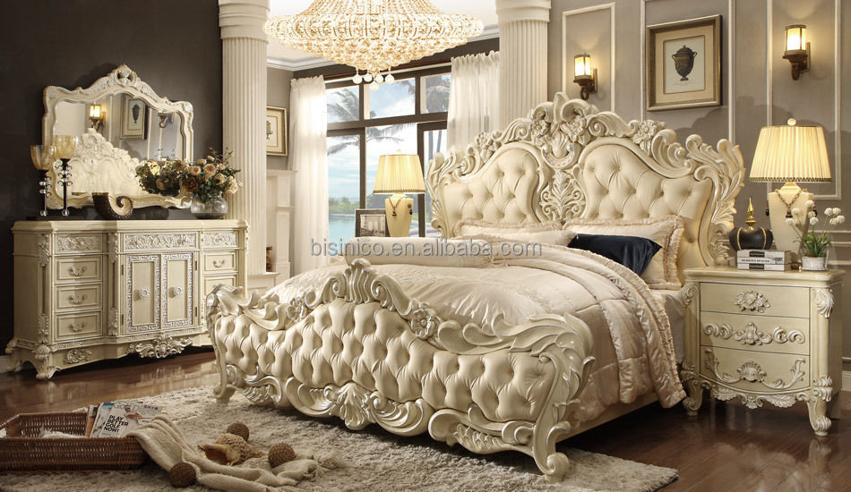 Antique Royal European Style Solid Wood 5pcs Bedroom Furniture,Classic  Bedroom Set - Buy European Style Carved Bedroom Furniture,Luxury Royal  Bedroom ...