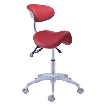 Dental Saddle Stool Big Size Top Medical Saddle Chair