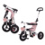 Tricycle for kids foldable kids tricycle 360 degree rotation children trike with EVA tires