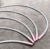Stainless Steel wire bra frame Nylon Coated Bra Wire