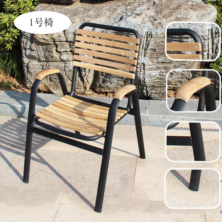 beautiful table de jardin en teck et fer forge images amazing house design. Black Bedroom Furniture Sets. Home Design Ideas