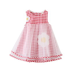 Детская одежда в Корейском стиле; Оптовая продажа; Красивые праздничные Платья с цветочным рисунком для девочек; Одежда на рынке