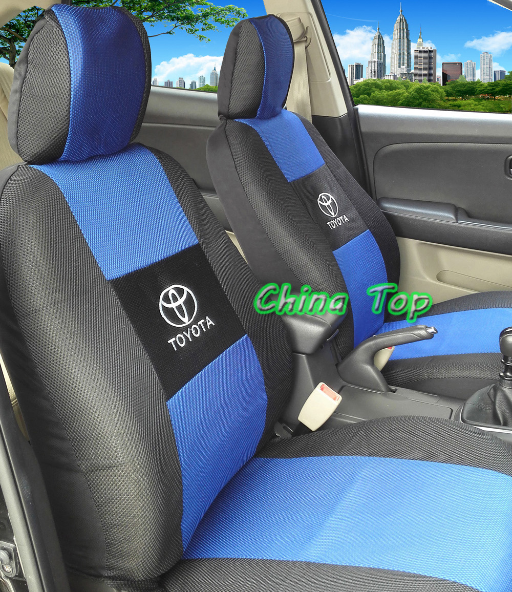 2 front seats car seat cover for toyota corolla camry rav4 universal size seat covers car. Black Bedroom Furniture Sets. Home Design Ideas