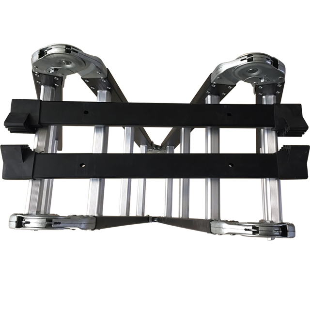 Extension Aluminum scaffolding ladders with hinge AP-403S