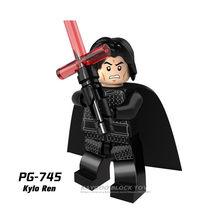 Jedi Star Wars клон Rebel Trooper имперская наземная команда Lor San Tekka Штурмовик строительные блоки армейские Фигурки игрушки(Китай)