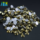High Quality Non Hot Fix Rhinestone All Size Flat Back Non Hotfix Crystal Rhinestones for Nail MS139 Or Gold Color