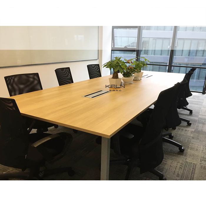Factory office furniture customized meeting desk conference table design high quality with chairs