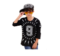 Full Cotton Children T Shirts 2016 Fashion Summer Boy s Tops Big Size Tees New Brand