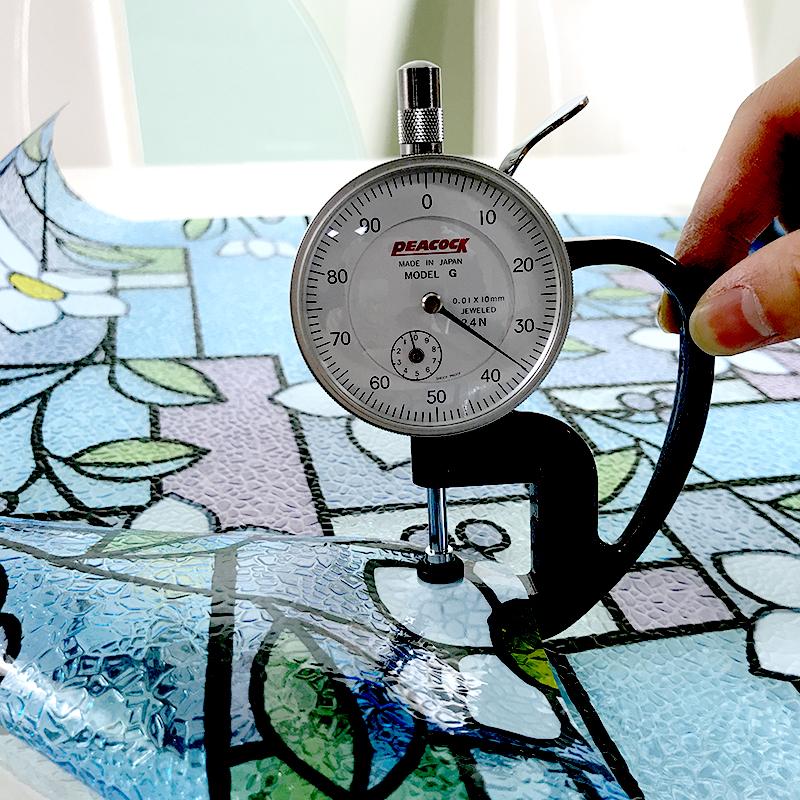 Статическая декоративная оконная Защитная пленка с 3d-печатью, витражная наклейка