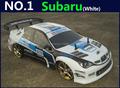1 10 RC Car High Speed Racing Car 2 4G Subaru 4 Wheel Drive Radio Control