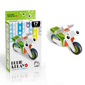 Fashion style DIY 3D model build Kid toy