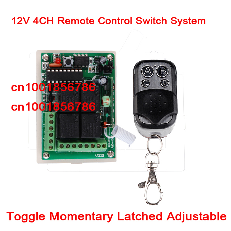 Four Channel Remote Control System Firgelli Automations