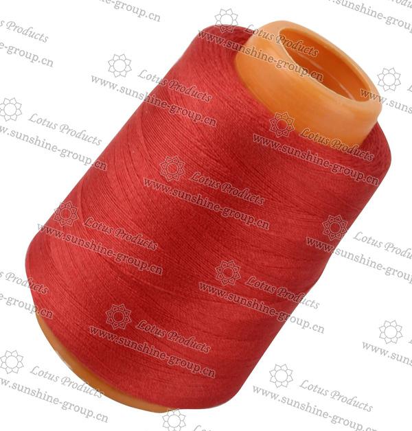 Швейная нить из 100% полиэстера, швейная нить разных цветов