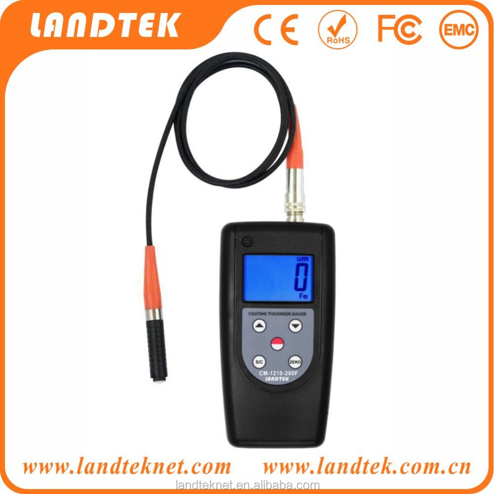 Micro Thickness Gauge On Small Workpiece Magnetic Induction CM-200F 0-200um