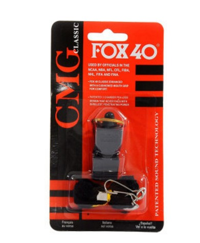 RED BLACK YELLOW BLUE Emergency Survival Plastic Fox-40 Whistle Professional Race Track Whistle