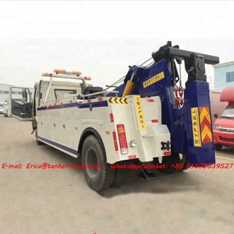 2018 Brand New Tow Truck Wrecker Vehicle 1600kg Max. Lift Weight Retracted Wrecker Towing Truck With Crane For Sale