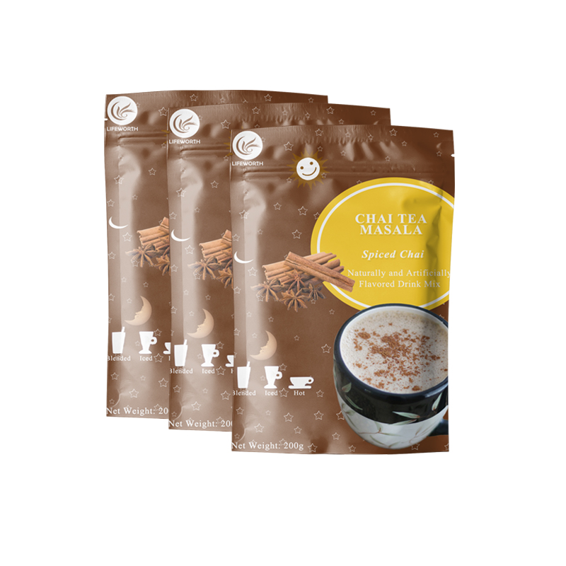 Lifeworth herbal masala chai tea powder - 4uTea | 4uTea.com