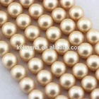 Shell Beads For Jewelry Matte Beads Nice Matte Rose Color #217 Shell Pearl Loose Beads For Jewelry Making