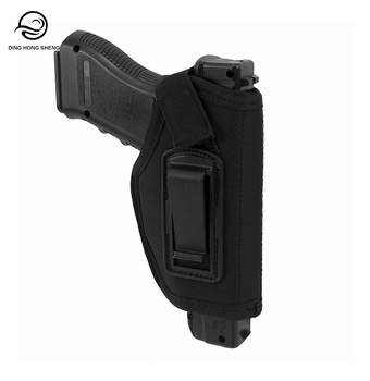 Tactical Molle IWB Concealed Carry Gun Pistol Holster fits G17 1911 Accessories