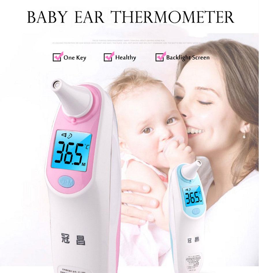 medicinsk öra infraröd termometer vuxen baby kropp feber temperatur ... 066eddcad9223