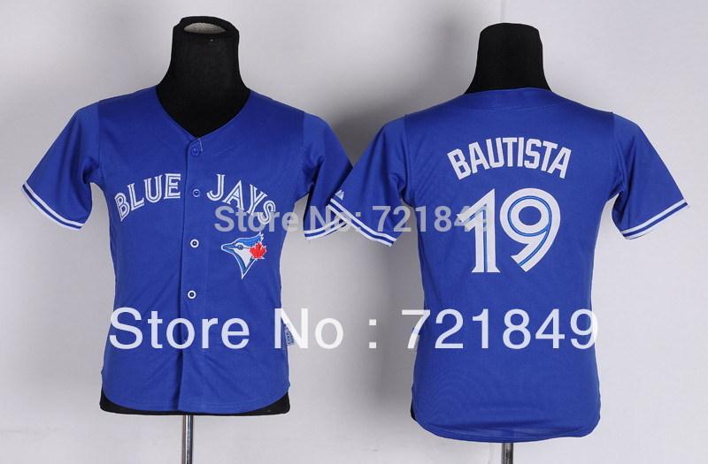 bc55f2bf2 Excellent Authentic Women Toronto Blue Jays Baseball Shirts 19 Jose  Bautista Girls Jersey