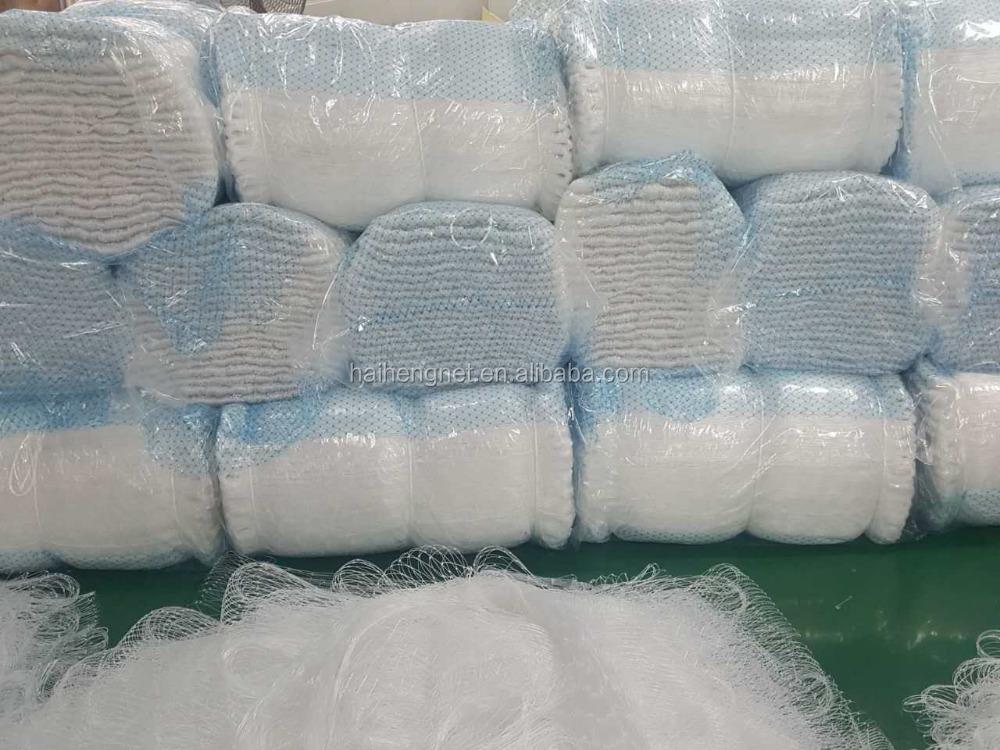 thailand quality nylon monofilament twisted fishing net