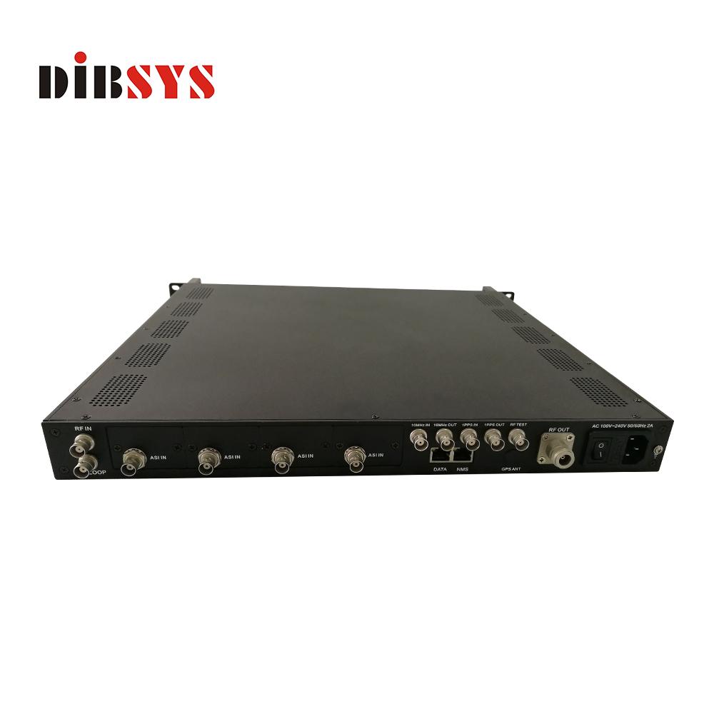 television studio equipment isdb t modulator works with isdb-t transmitter together