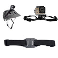 Go Pro Accessories Adjustable Helmet Strap Mount for Xiaomi Yi GoPro Hero 4 3 SJCAM SJ4000
