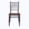 Café rouge de mariage chaise