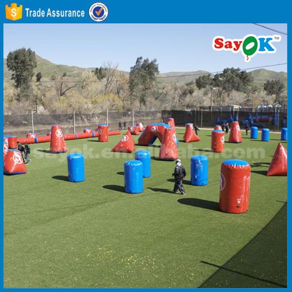 Новые бункеры для игр на открытом воздухе, Надувное воздушное поле для пейнтбола, для продажи