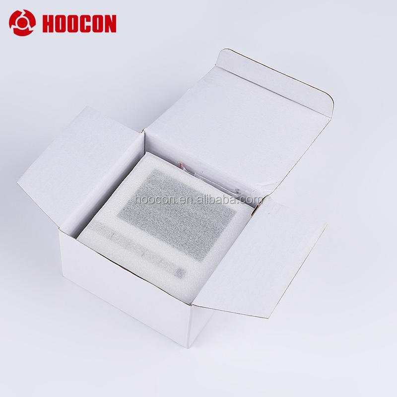 Цифровой контроллер температуры воздуха в помещении с синим экраном