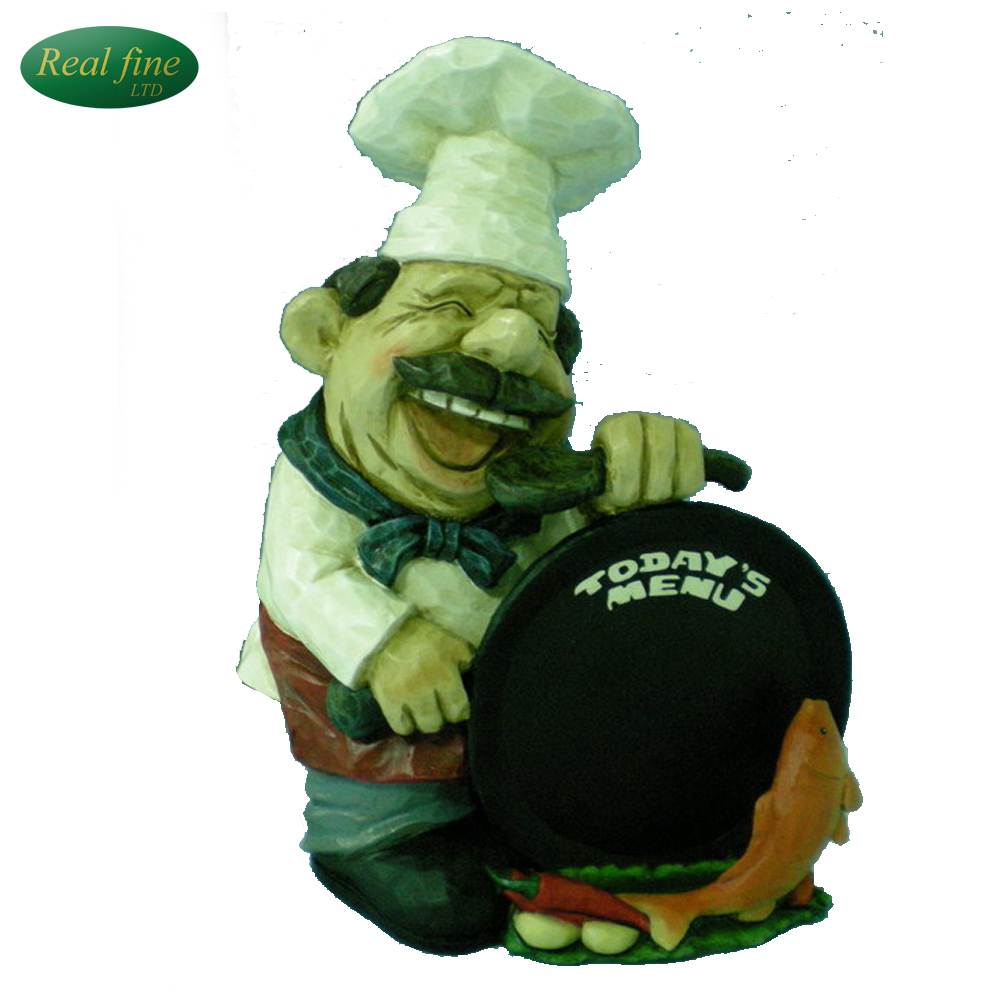 Custom Factory Price Resin Fat Chef Kitchen Decor For Sale Buy Product On Alibaba Com