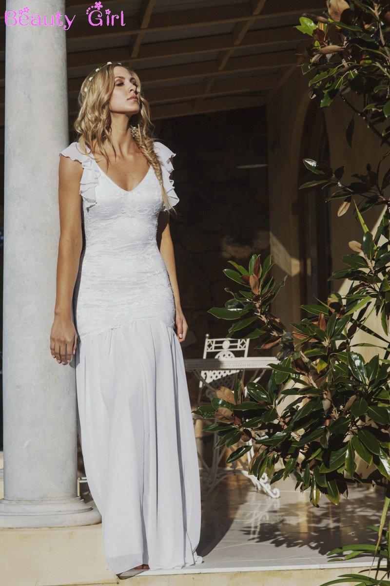 sexy backless wedding dresses hippie wedding dresses sexy vestidos de boda robe de mariee beach. Black Bedroom Furniture Sets. Home Design Ideas
